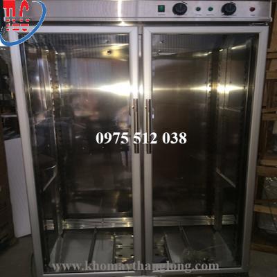 Tủ ủ bột mỳ 30 khay sử dụng bảng điều khiển rất tiện lợi và dễ sử dụng.