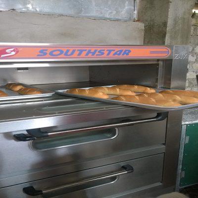 Khay lò nướng bánh 3 tầng 6 khay