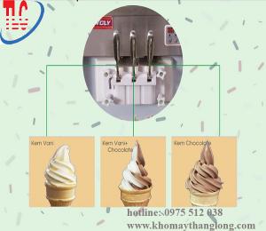 Tay cầm máy làm kem tươi V18