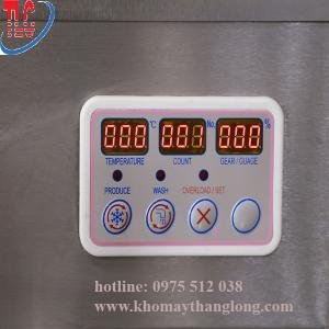 Hệ thống điều khiển máy làm kem cứng BQY 18 có đèn led giúp người dùng dễ dàng sử dụng