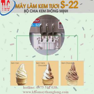 Tay cầm máy làm kem tươi BQL S22