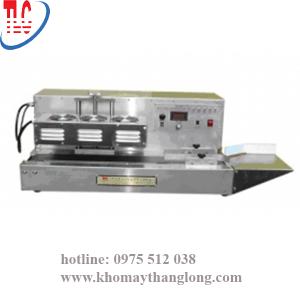 máy ép màng seal tự động tại Kho máy Máy Thăng Long