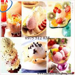 Hình dáng kem đa dạng được làm từ máy làm kem tươi BQ 833