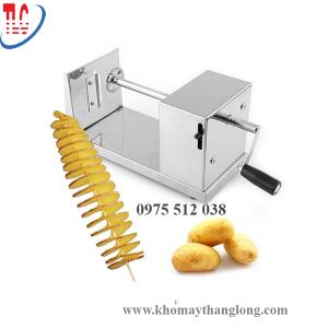 máy cắt khoai tây lốc xoáy tại kho máy Thăng Long