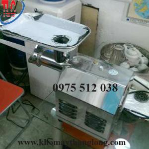 máy xay thịt HD 12 dùng để xay nhuyễn thịt và làm giò chả