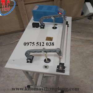 máy hàn túi dập chân dây nhiệt cho đường hàn đẹp độ rộng đường hàn chỉ 2 đến 3 mm