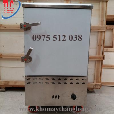 Tủ hấp chả lụa 10 khay gas tại kho máy Thăng Long