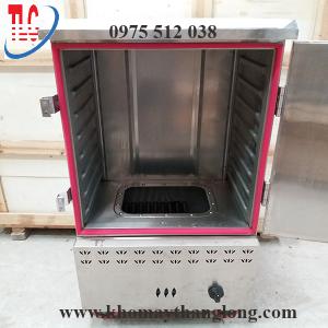 thân tủ nấu cơm bằng gas 8 khay có kết cấu chắc chắn