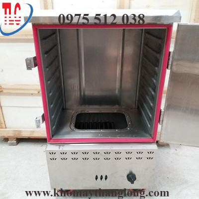 Tủ hấp giò lụa được thiết kế 2 lớp inox cách nhiệt