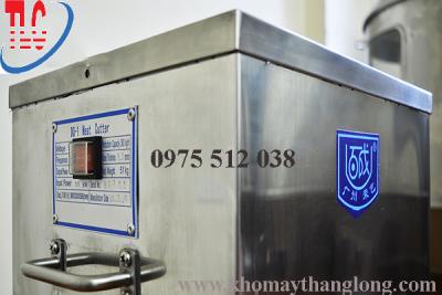 Máy thái thịt dq-1 có năng suất cao