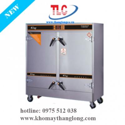 Tủ nấu cơm công nghiệp 24 khay dùng điện đa năng tại Kho máy Thăng Long