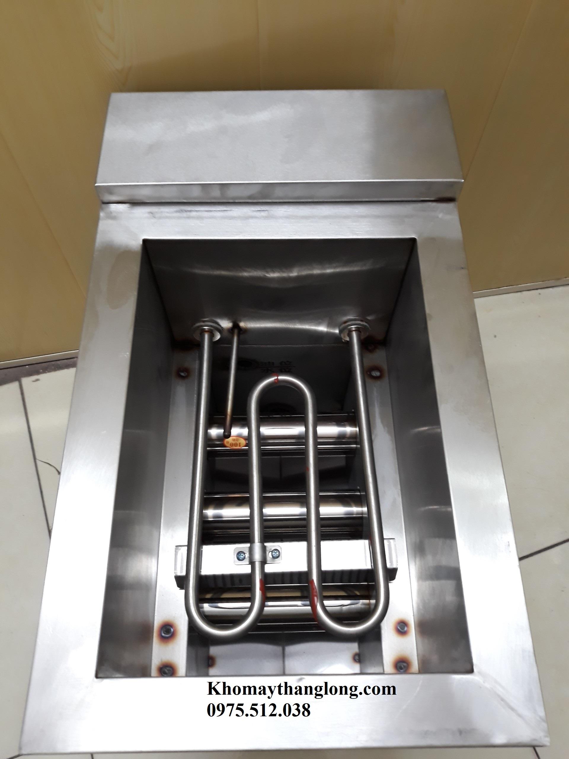 Hệ thống bếp chiên tách dầu 8l